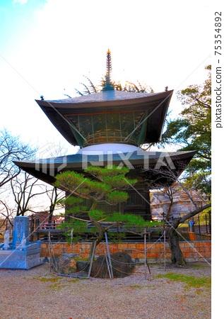 카사 드 라 관음의 불탑, 이중 탑입니다. 역사적인 건물에 정취가 있습니다. 75354892