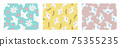 花鳥背景素材無縫圖案 75355235