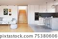 modern apartment interior 75380606