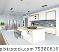 modern kitchen interior 75380610
