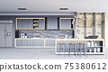modern kitchen interior 75380612