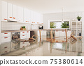 flooding in the modern kitchen. 75380614