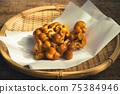 가열하지 아니한 원료 나도 팽나무 버섯 (맛 버섯) 75384946