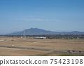 도요타 성에서 바라 보는 조소시의 평야 75423198