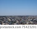 도요타 성에서 바라 보는 조소시의 거리 풍경 75423201