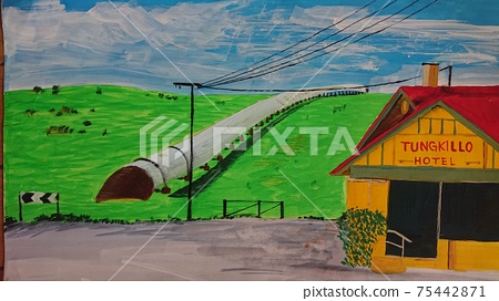 Landscape paintings I met while traveling 75442871