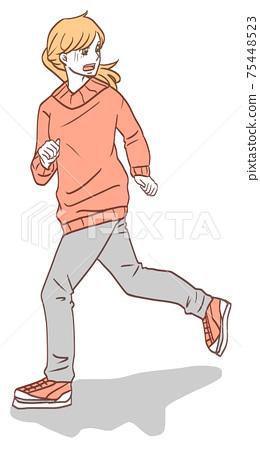 도망 여성 (심플 컬러) 75448523