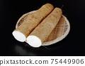 Cut long potatoes 75449906