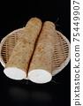 Cut long potatoes 75449907