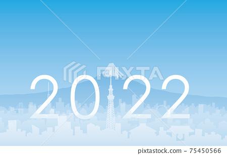 도쿄와 후지산 2022 75450566
