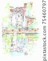 世界遺產城市景觀,意大利,埃斯特別墅 75460797