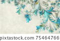 Abstract digital watercolor patterns background 75464766
