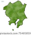 日本關東地區的日式地圖 75465859