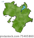 日本近畿地區的日式地圖 75465860