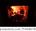 fire, flame, Fire flames background, 75468678