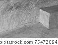 dark grey cement architecture loft background 75472094