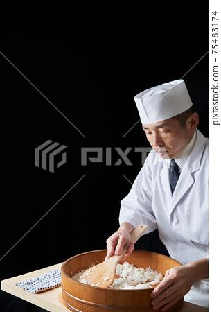 切飯的壽司工匠 75483174