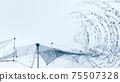 디지털 영업 재택 근무 재택 근무 IoT 의한 대도시의 디지털화 배경 이미지 이미지 75507328