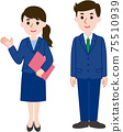 Business person, 2 men and women 75510939