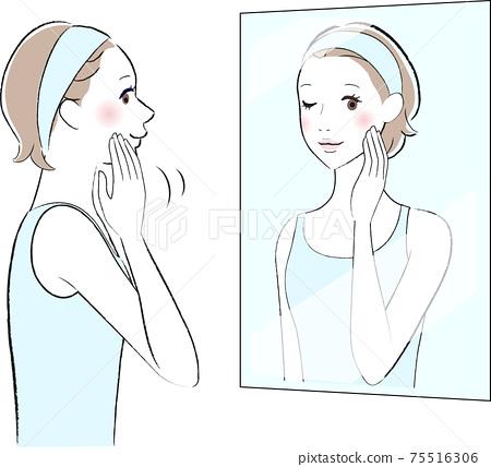 皮膚護理女性 75516306