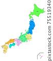 日本縣地圖 75519340