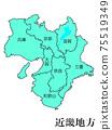 日本近畿地區 75519349