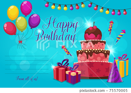 Birthday Party Invitation 75570005