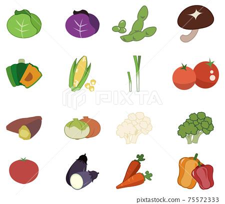 很多蔬菜 75572333