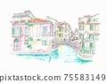 世界遺產城市景觀,意大利,威尼斯 75583149