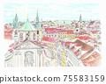 世界遺產城市景觀,捷克共和國,布拉格老城 75583159