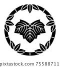 上野浩介的家族徽章,筑波和常春藤 75588711