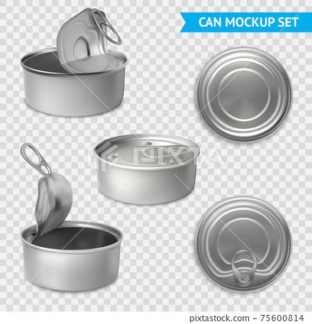 Tin Cans Transparent Set 75600814