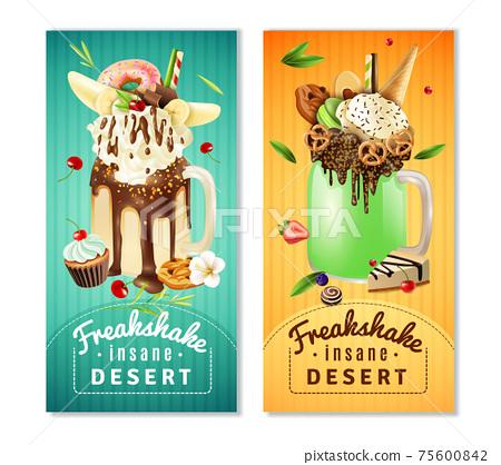Extreme Freakshake Insane Dessert  Banners Set 75600842