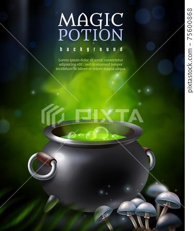 Mysterious Poison Pot Background 75600868
