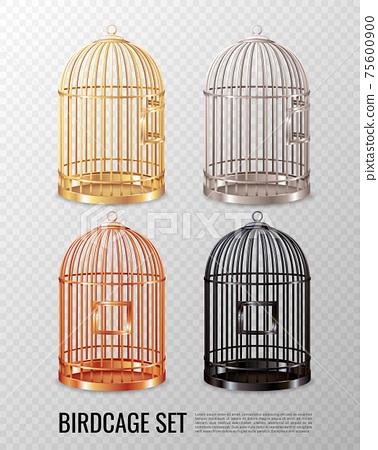 Canary Birdcage 3D Set 75600900