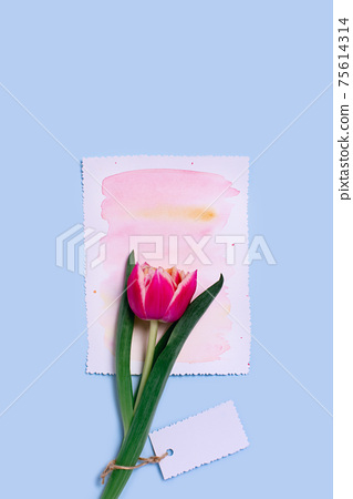 Vertical greeting card. 75614314