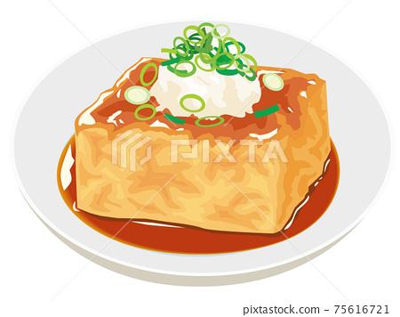 Deep-fried tofu 75616721