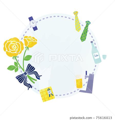 黃玫瑰和禮品項目日元 75616813