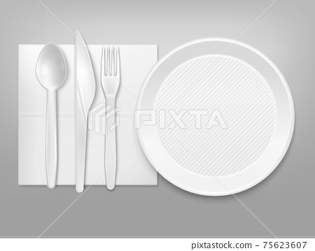 Disposable Tableware  Set 75623607