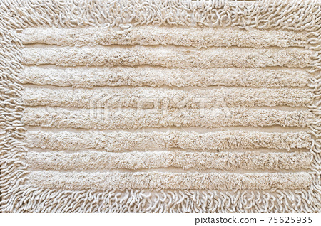 Brown towel close-up fabric and texture background. 75625935