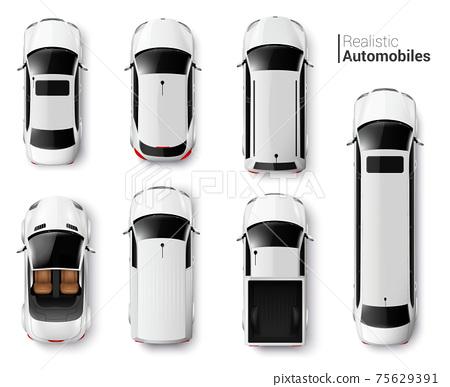 Cars Top View Set 75629391