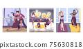 Dancer Style Compositions Set 75630818