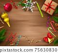 Christmas Celebration Decoration Composition 75630830