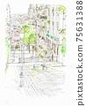 歐洲的街道..蒙馬特小巷 75631388