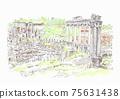 世界遺產城市景觀,羅馬,羅馬廣場 75631438