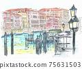 世界遺產城市景觀,意大利,威尼斯,大運河 75631503