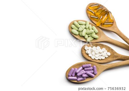 Supplement pills 75636932
