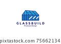 glass building industry factory logo vector symbol icon design illustration 75662134