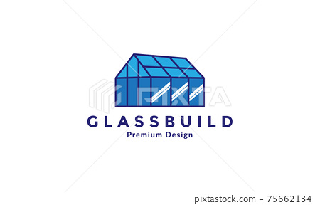 glass building industry factory logo vector symbol icon design illustration 75662134