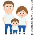 三人家庭 75663090